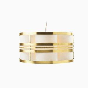 Circus Ii Brass Suspension Lamp by Utu Soulful Lighting