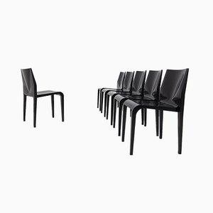 Schwarz Lackierter Stuhl von Riccardo Blumer, 1996