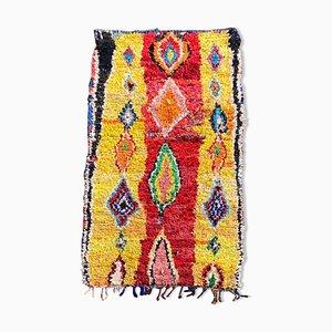 Vintage Berber Boucherouite Carpet, 1990s