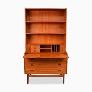 Secrétaire Mid-Century en Teck par Johannes Sorth pour nexo møbelfabrik bornholm, Danemark