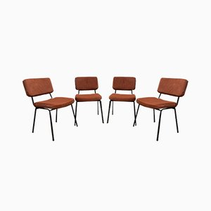 Dining Chairs by André Simard for Airborne, 1960s, Set of 4