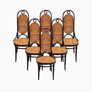 No. 207 R Dining Chairs by Michael Thonet for Thonet, 1978, Set of 6