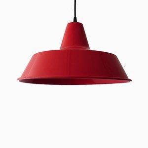 Lampe à Suspension Vintage en Métal Laqué de Louis Poulsen, 1970s