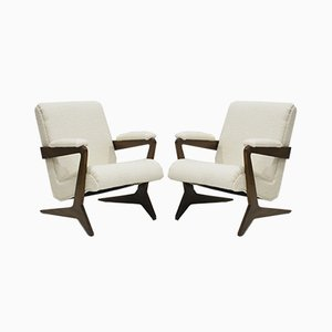 Armchairs Attributed to José Zanine Caldas, 1960s, Set of 2