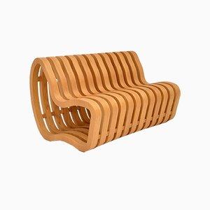 Vintage Curve Bench by Nina Moeller