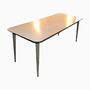 Vintage Swedish Industrial Dining Table from Perstorp, 1950s
