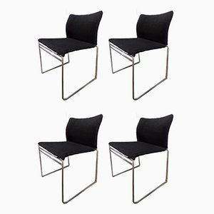Jano Chairs by Kazuhide Takahama for Gavina, 1980s, Set of 4