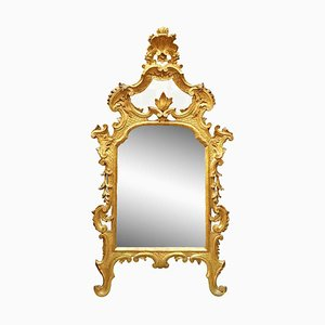 Louis XV Style Golden Mirror