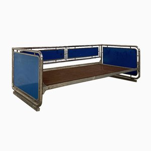 Vintage Functionalist Tubular Couch