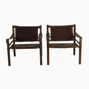 Sirocco Safari Chairs by Arne Norell for Arne Norell AB, 1969, Set of 2