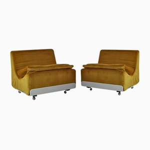Orbis Lounge Chairs by Luigi Colani for Cor, 1970s, Set of 2