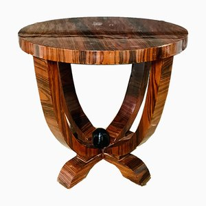 Art deco Jacaranda Wood Coffee Table, 1930s