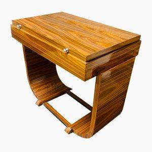 Toeletta vintage in legno Jacaranda