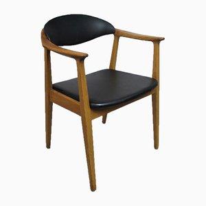 Schwedischer Mid-Century Schreibtischstuhl von K.-E. Kullen für Bodafors, 1960er
