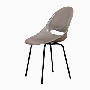 Gray Dining Chair by Miroslav Navratil for Vertex, 1959