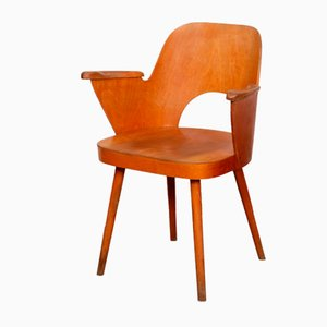 Lounge Chair by Lubomir Hofmann for TON, 1960s