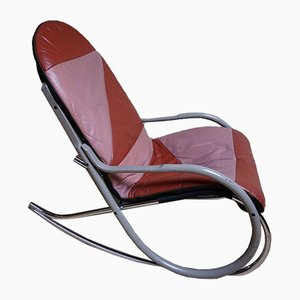 Swiss Nonna Rocking Chair by Paul Tuttle for Sträslle, 1970s