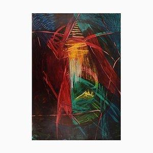 Ivy Lysdal, Gouache Auf Karton, Abstrakte Moderne Malerei
