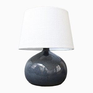 Vintage French Ceramic Table Lamp, 20th-Century
