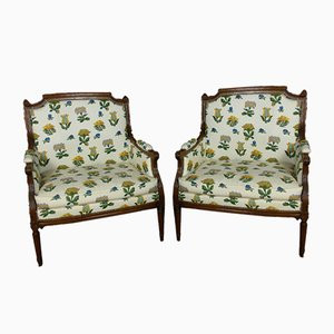 Armchairs, 19th-Century, Set of 2