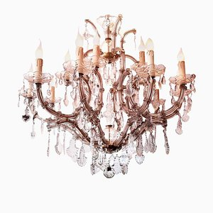 Maria Theresa Thirteen-Light Chandelier, Italy, 1930s