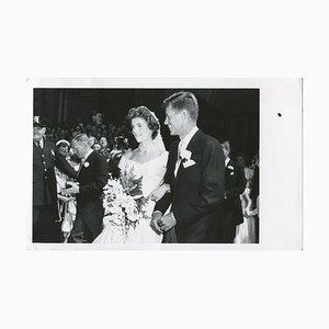 Nozze John F. Kennedy e Jacqueline Kennedy - Official Press, 1953
