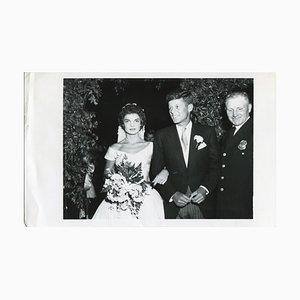Presse John F. Kennedy & Jacqueline Kennedy - Presse Officielle, 1953