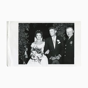 Wedding John F. Kennedy & Jacqueline Kennedy - Official Press, 1953