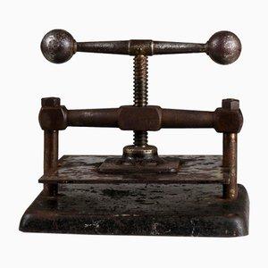 Press for Bücher, 1800er