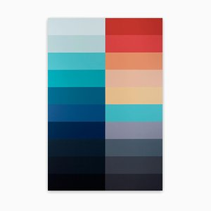 Emotional Color Field 2, Abstract Painting, 2021