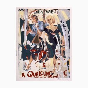 Mimmo Rotella, Screen Printing and Collage, Some Like it Hot
