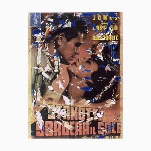 Mimmo Rotella, We Were Strangers, Screen Printing and Collage