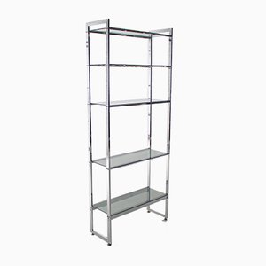 Minimalist Chrome Shelf