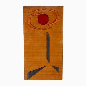 Abstract Wand Keramik Komposition