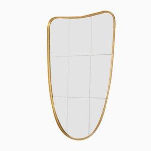 Free-Form Brass Mirror