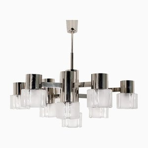 Chandelier by Gaetano Sciolari for Mazzega