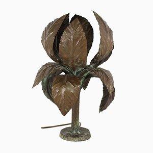 Brutalist Copper Table Lamp