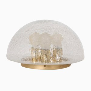 Glass Dome Lamp from Doria, 1970s