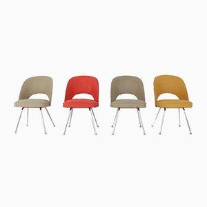 Thonet Stühle, 1950er, 4er Set