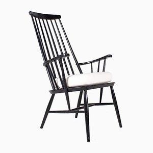 Black Beech Armchair in Tapiovaara Style
