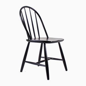 Chaise Style Ercol Tapiovaara Noire
