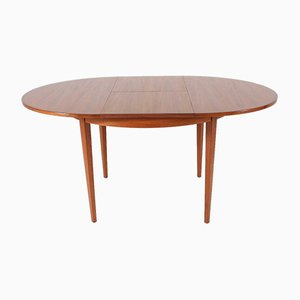 Round Scandinavian Table, 1960s