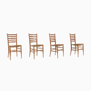 Spinetto Chairs from Chiavari, Italy, 1960s, Set of 4