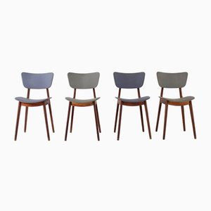 6517 Chairs by Roger Landault, 1954, Set of 4