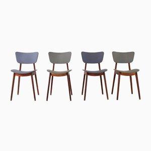 6517 Stühle von Roger Landault, 1954, 4er Set