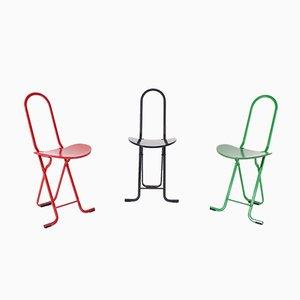 Daphne Chairs by Gastone Rinaldi, 1980s, Set of 3