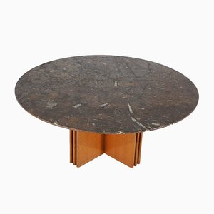 Circular Coffee Table by Heinz Lilienthal, 1985