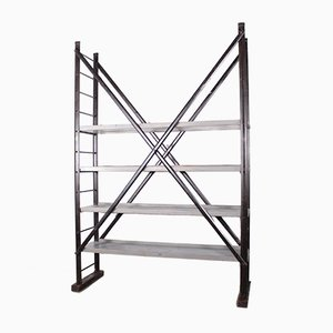 Industrial Scaffolding Shelves from Tubesca, 1950s