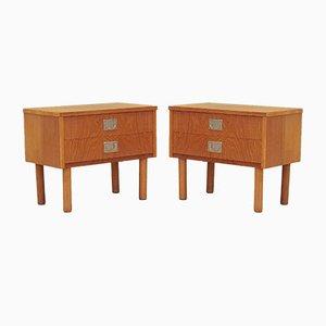 Danish Cabinets, 1970s, Set of 2