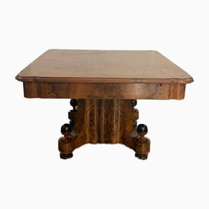 Art Deco Carved Burr Dining Table, 1930s